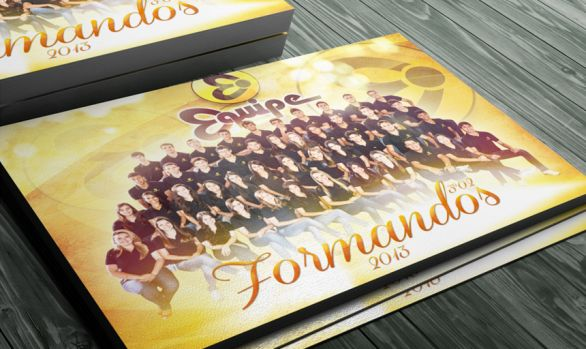 Cartaz formandos colégio Equipe