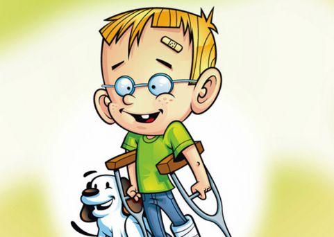 Mascote Campanha de Prevenção de Acidentes
